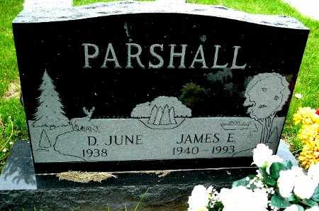 PARSHALL, JAMES E - Calhoun County, Michigan | JAMES E PARSHALL - Michigan Gravestone Photos