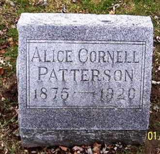 PATTERSON, ALICE - Calhoun County, Michigan   ALICE PATTERSON - Michigan Gravestone Photos