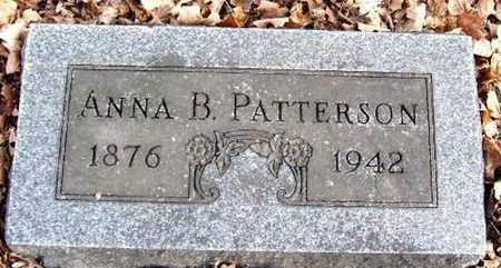 PATTERSON, ANNA B - Calhoun County, Michigan   ANNA B PATTERSON - Michigan Gravestone Photos
