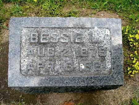 PATTERSON, BESSIE L. - Calhoun County, Michigan | BESSIE L. PATTERSON - Michigan Gravestone Photos