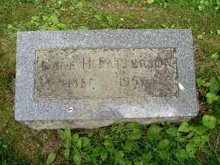 PATTERSON, CARL - Calhoun County, Michigan | CARL PATTERSON - Michigan Gravestone Photos