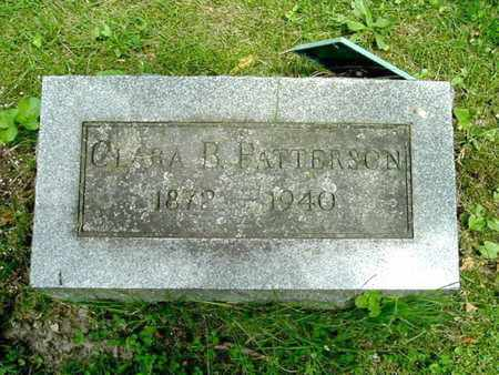 PATTERSON, CLARA B. - Calhoun County, Michigan   CLARA B. PATTERSON - Michigan Gravestone Photos