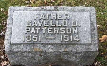 PATTERSON, CAVELLO - Calhoun County, Michigan | CAVELLO PATTERSON - Michigan Gravestone Photos
