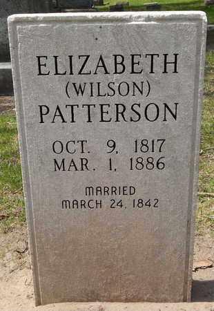 PATTERSON, ELIZABETH (WILSON) - Calhoun County, Michigan | ELIZABETH (WILSON) PATTERSON - Michigan Gravestone Photos