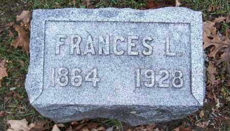 PATTERSON, FRANCES L - Calhoun County, Michigan | FRANCES L PATTERSON - Michigan Gravestone Photos