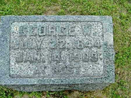 PATTERSON, GEORGE W. - Calhoun County, Michigan | GEORGE W. PATTERSON - Michigan Gravestone Photos