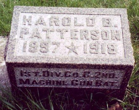 PATTERSON, HAROLD B. - Calhoun County, Michigan | HAROLD B. PATTERSON - Michigan Gravestone Photos