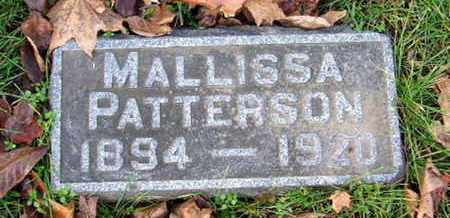 PATTERSON, MALLISSA - Calhoun County, Michigan | MALLISSA PATTERSON - Michigan Gravestone Photos