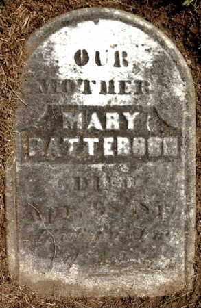 PATTERSON, MARY - Calhoun County, Michigan   MARY PATTERSON - Michigan Gravestone Photos