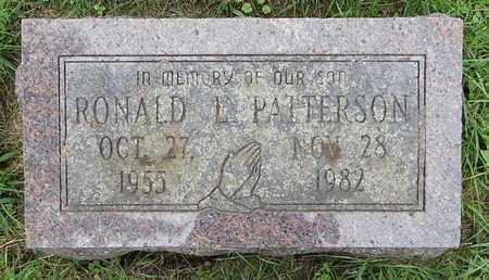 PATTERSON, RONALD L - Calhoun County, Michigan   RONALD L PATTERSON - Michigan Gravestone Photos