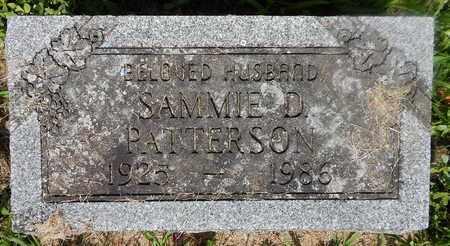 PATTERSON, SAMMIE D - Calhoun County, Michigan | SAMMIE D PATTERSON - Michigan Gravestone Photos