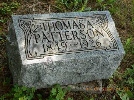 PATTERSON, THOMAS A. - Calhoun County, Michigan | THOMAS A. PATTERSON - Michigan Gravestone Photos