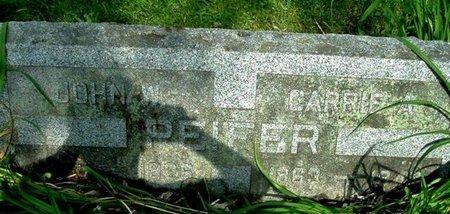 PEIFER, JOHN W - Calhoun County, Michigan | JOHN W PEIFER - Michigan Gravestone Photos