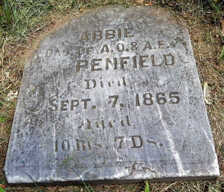 PENFIELD, ABBIE - Calhoun County, Michigan | ABBIE PENFIELD - Michigan Gravestone Photos