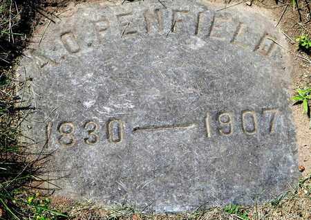 PENFIELD, ABEL O - Calhoun County, Michigan | ABEL O PENFIELD - Michigan Gravestone Photos