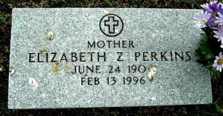 PERKINS, ELIZABETH Z - Calhoun County, Michigan   ELIZABETH Z PERKINS - Michigan Gravestone Photos