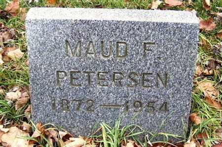 PETERSEN, MAUD F - Calhoun County, Michigan | MAUD F PETERSEN - Michigan Gravestone Photos