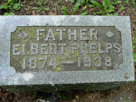 PHELPS, ELBERT - Calhoun County, Michigan | ELBERT PHELPS - Michigan Gravestone Photos