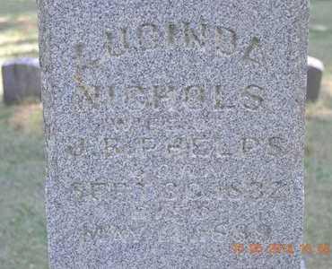 NICHOLS PHELPS, LUCINDA - Calhoun County, Michigan | LUCINDA NICHOLS PHELPS - Michigan Gravestone Photos