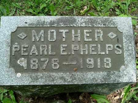 PHELPS, PEARL - Calhoun County, Michigan | PEARL PHELPS - Michigan Gravestone Photos