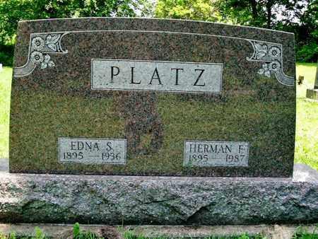 PLATZ, HERMAN - Calhoun County, Michigan | HERMAN PLATZ - Michigan Gravestone Photos