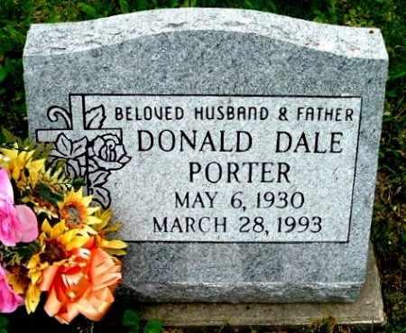 PORTER, DONALD D - Calhoun County, Michigan | DONALD D PORTER - Michigan Gravestone Photos