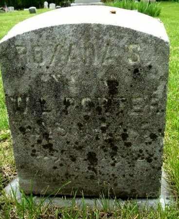 PORTER, ROXANA S - Calhoun County, Michigan | ROXANA S PORTER - Michigan Gravestone Photos