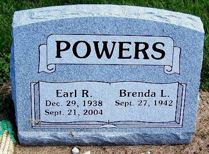 POWERS, EARL R - Calhoun County, Michigan | EARL R POWERS - Michigan Gravestone Photos
