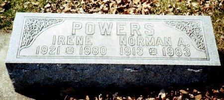 POWERS, IRENE - Calhoun County, Michigan | IRENE POWERS - Michigan Gravestone Photos
