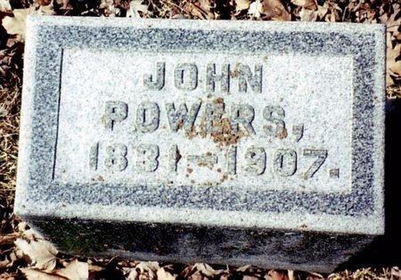 POWERS, JOHN - Calhoun County, Michigan | JOHN POWERS - Michigan Gravestone Photos