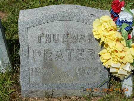 PRATER, THURMAN - Calhoun County, Michigan | THURMAN PRATER - Michigan Gravestone Photos