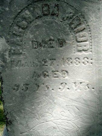 PRIOR, BARSHABA - Calhoun County, Michigan | BARSHABA PRIOR - Michigan Gravestone Photos