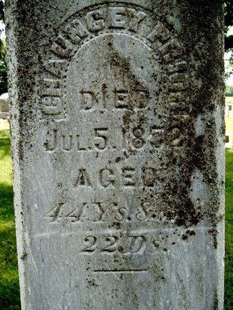 PRIOR, CHAUNCEY - Calhoun County, Michigan | CHAUNCEY PRIOR - Michigan Gravestone Photos