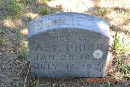 PRIOR, DOLLIE A. - Calhoun County, Michigan   DOLLIE A. PRIOR - Michigan Gravestone Photos