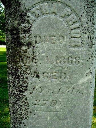 PRIOR, MARTHA - Calhoun County, Michigan | MARTHA PRIOR - Michigan Gravestone Photos