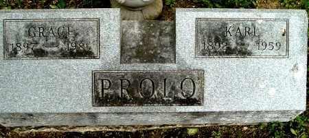 PROLO, KARL - Calhoun County, Michigan | KARL PROLO - Michigan Gravestone Photos