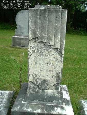PUTNAM, CYRUS - Calhoun County, Michigan   CYRUS PUTNAM - Michigan Gravestone Photos