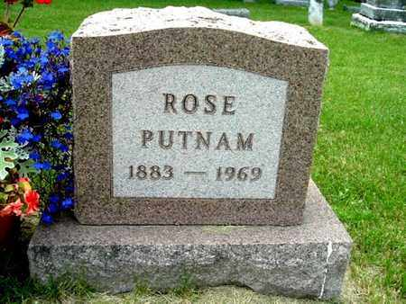 PUTNAM, ROSE - Calhoun County, Michigan | ROSE PUTNAM - Michigan Gravestone Photos