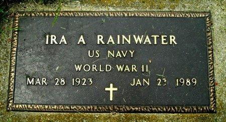 RAINWATER, IRA A - Calhoun County, Michigan | IRA A RAINWATER - Michigan Gravestone Photos