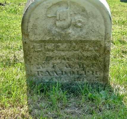RANDOLPH, EMMA L. - Calhoun County, Michigan | EMMA L. RANDOLPH - Michigan Gravestone Photos