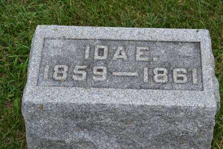 RARICK, IDA E. - Calhoun County, Michigan | IDA E. RARICK - Michigan Gravestone Photos