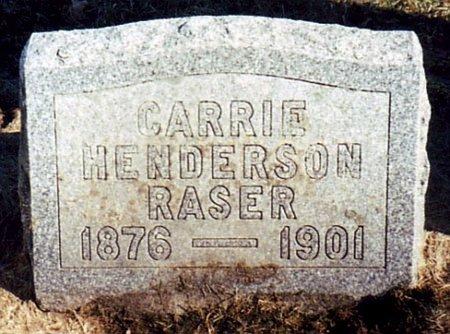 RASER, CARRIE - Calhoun County, Michigan   CARRIE RASER - Michigan Gravestone Photos