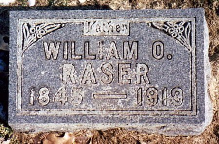 RASER, WILLIAM O. - Calhoun County, Michigan | WILLIAM O. RASER - Michigan Gravestone Photos