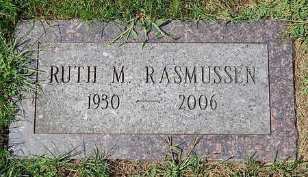 RASMUSSEN, RUTH M - Calhoun County, Michigan | RUTH M RASMUSSEN - Michigan Gravestone Photos