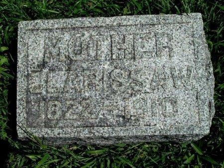RATHBUN, CLARISSA - Calhoun County, Michigan | CLARISSA RATHBUN - Michigan Gravestone Photos