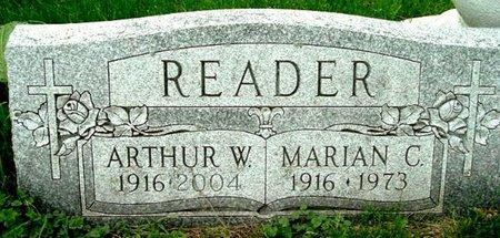 READER, MARIAN C - Calhoun County, Michigan | MARIAN C READER - Michigan Gravestone Photos