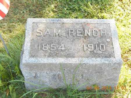 RENCH, SAM - Calhoun County, Michigan | SAM RENCH - Michigan Gravestone Photos
