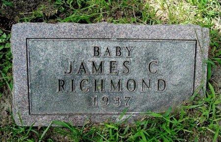 RICHMOND, JAMES C. - Calhoun County, Michigan | JAMES C. RICHMOND - Michigan Gravestone Photos