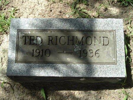 RICHMOND, TED - Calhoun County, Michigan | TED RICHMOND - Michigan Gravestone Photos