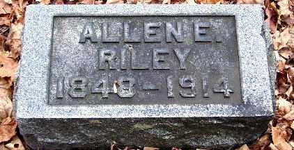 RILEY, ALLEN E - Calhoun County, Michigan | ALLEN E RILEY - Michigan Gravestone Photos